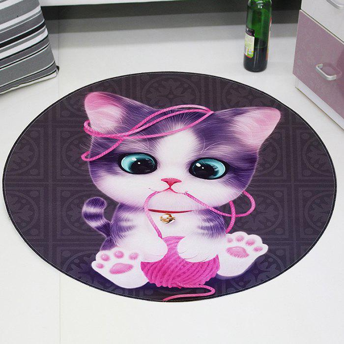 Sale 3D Cartoon Cute Pet Cute Anime Mat Cloakroom Photo Round Children's Carpet Living Room Bedroom Swivel Chair Hanging Basket