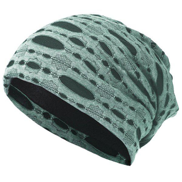 Trendy Pullover Cap Ladies Knit Hat Opening Cotton Pile Cap Ear Protector