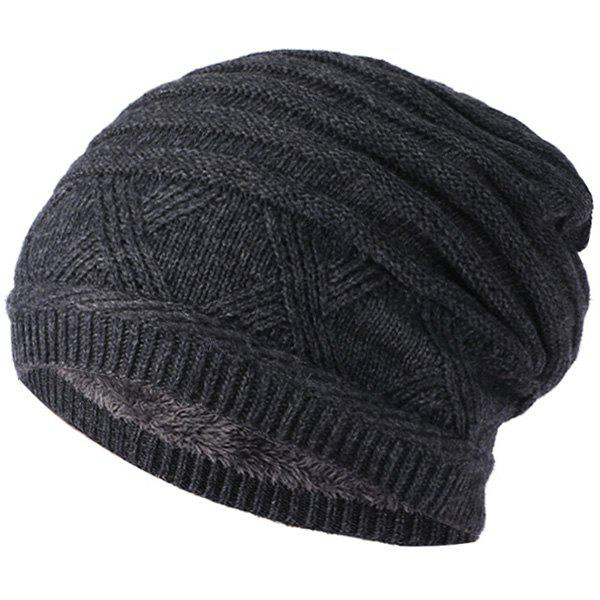 Discount Winter Outdoor Plus Velvet Hat Cap Knit Hat