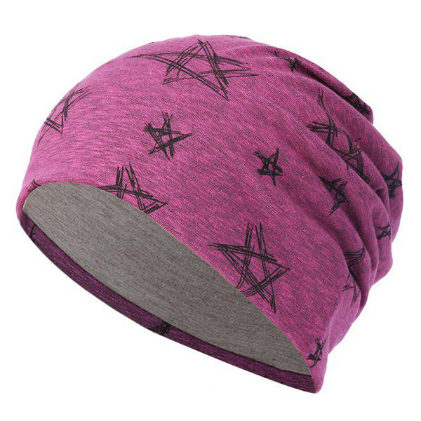 Store Five-pointed Star Knit Hip Hop Headgear