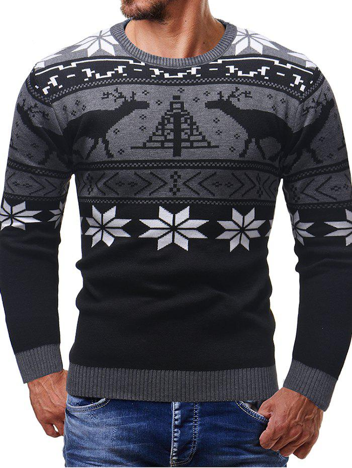 Outfits Thicken Christmas Sweater Men Long Sleeve Cardigan
