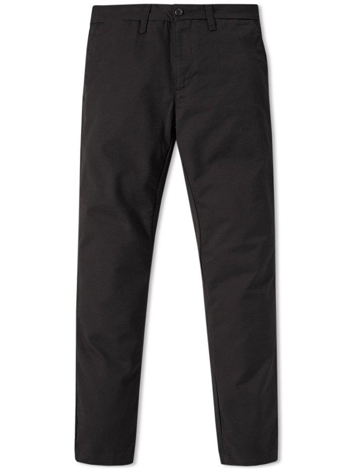 Affordable Men's Business Casual Simple Pants with Small Feet