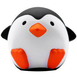Slow Rising Squishy Penguin Stress Relief 10cm Soft Kawaii Animals Cute Collection Gift Decor Toy -