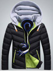 Men's Cotton  Padded Down Jacket -