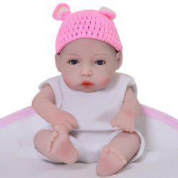 WP01 KEIUMI 11 inch Full Silicone Mini Simulation Baby Rebirth Doll Comfort Toy -