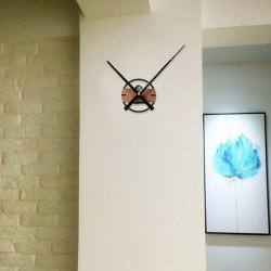 Simple Extra Large Pointer Wood Solid Creative Clock Watch DIY Clock -