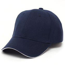 Male Solid Color Baseball Cap -