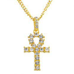 Fashion Simple Cross Alloy Necklace -