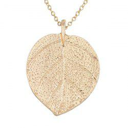Fashion Wild Leaf Sweater Chain -