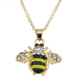 Fresh Little Bee Clavicle Sweater Chain -