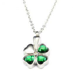 Simple Lucky Clover Necklace -