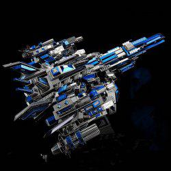 Metal Battleship Puzzle Puzzle Stereo DIY Model Toy -