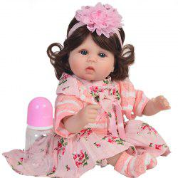 Simulation Baby Rebirth Doll Toy Birthday Christmas Gift 18 inches -