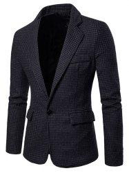 Men Stylish Leisure Turn-down Collar Business Suit -