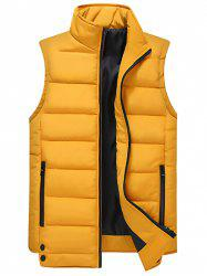 Men's Casual Multicolor Trend Stand Collar Sleeveless Vest -