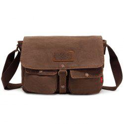 AUGUR Men Classic Crossbody Bag Leisure Canvas -