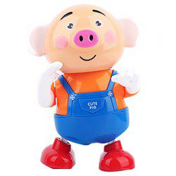 Electric Seaweed Pig Dazzling Dance Luminous Music Sprouting Pig Children Toy -