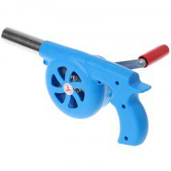 Outdoor BBQ Manual Small Barbecue Combustion Ignition Tool Air Blower -