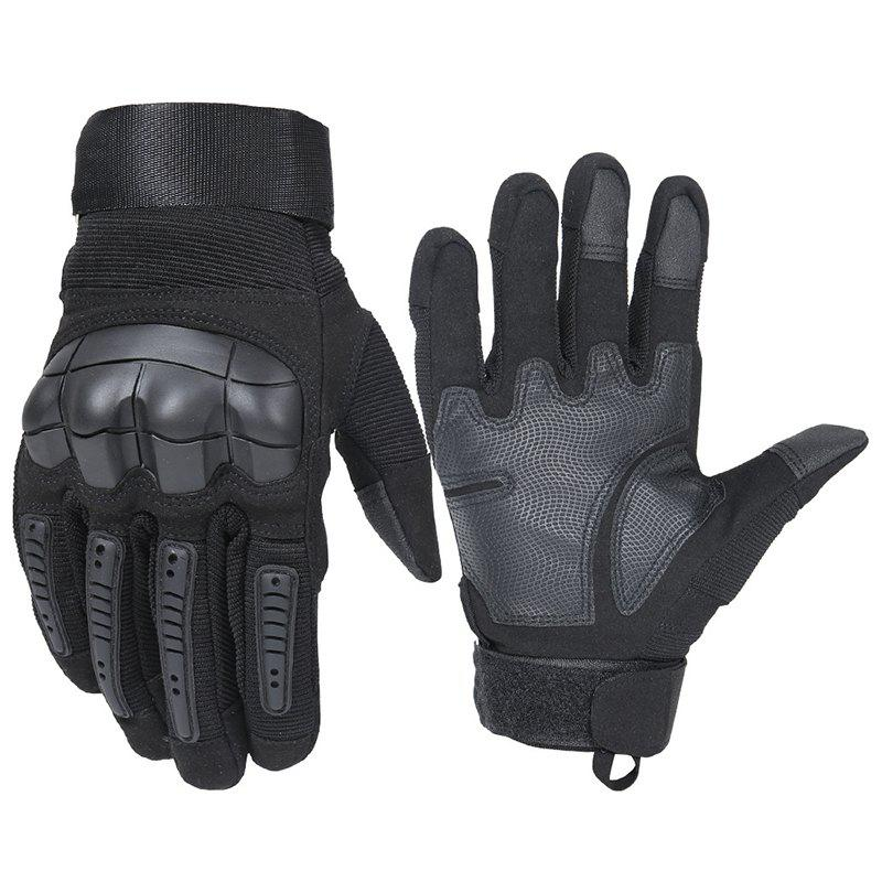 Outfit Men's Gloves Wear-resistant Microfiber Soft Shell Touch Screen