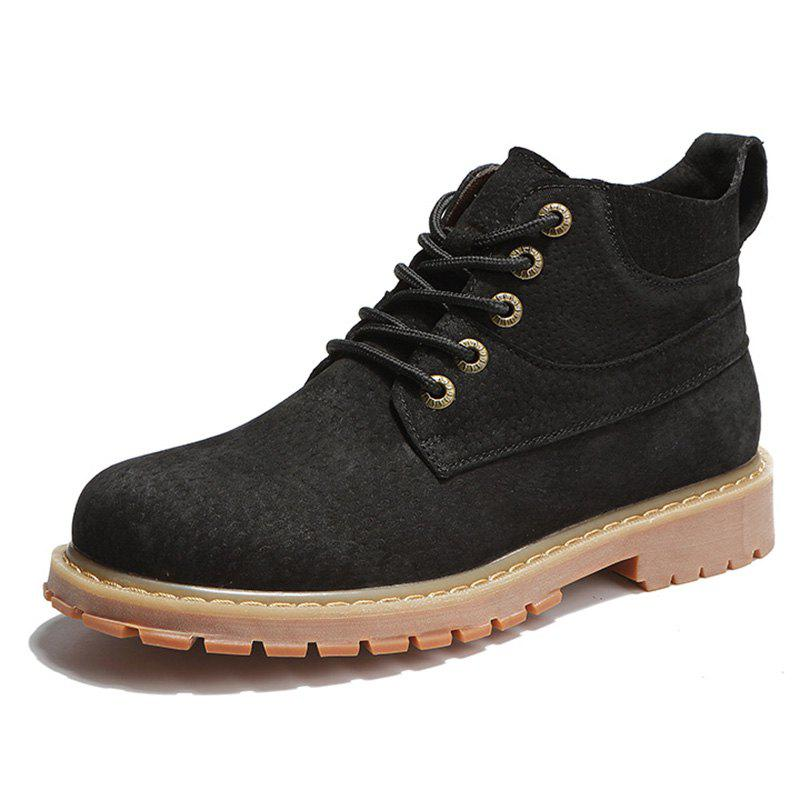 Outfits Men Lace-up Boots Leisure Comfortable Wearable