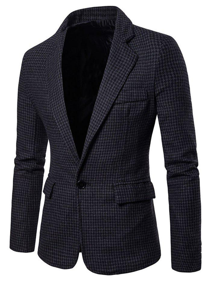 Trendy Men Stylish Leisure Turn-down Collar Business Suit