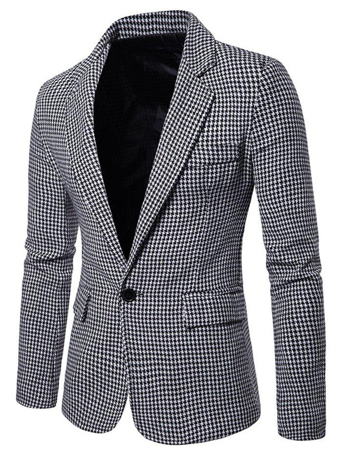 Chic Men Stylish Leisure Turn-down Collar Business Suit
