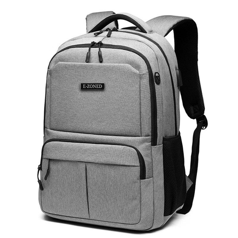 New E - ZONED Business Backpack Personality USB Charging