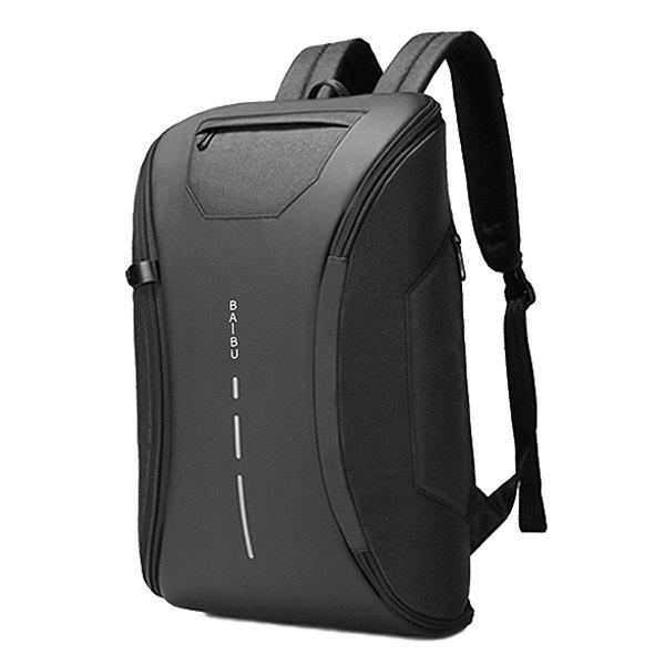 Trendy E-ZONED Backpack Printed Anti-theft Computer Bag