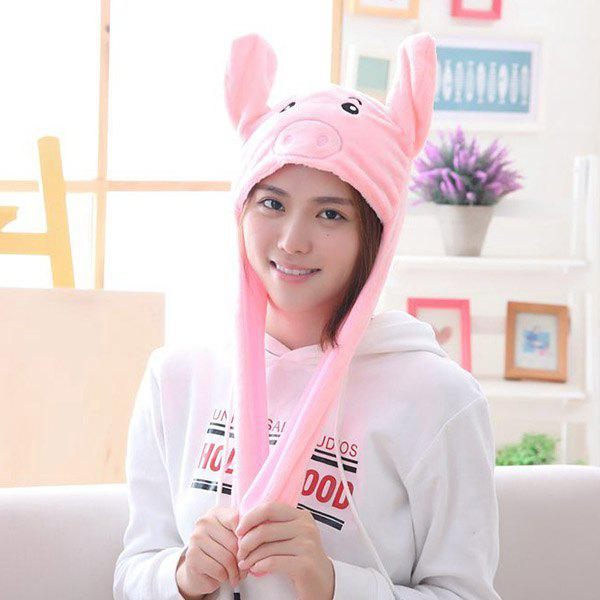 Outfit Year Gift Spring Festival Gift Pig Year Mascot Ear Moving Pig Hat
