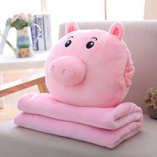 Unique Spring Festival Gifts Pig Pillow Air Conditioning Blanket