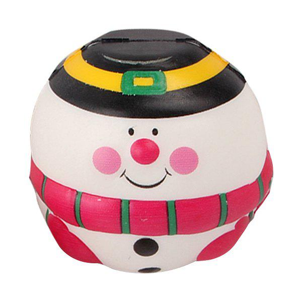 Store Squishy Slow Rebound Color Snowman Pu Christmas Simulation Decompression Bread Toy
