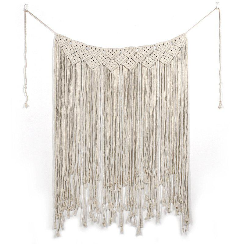 Trendy MS7089 Bohemian  Hand - woven L Curtain Tapestry Home Pendant Wedding Wall Decoration Wall Hanging Decoration