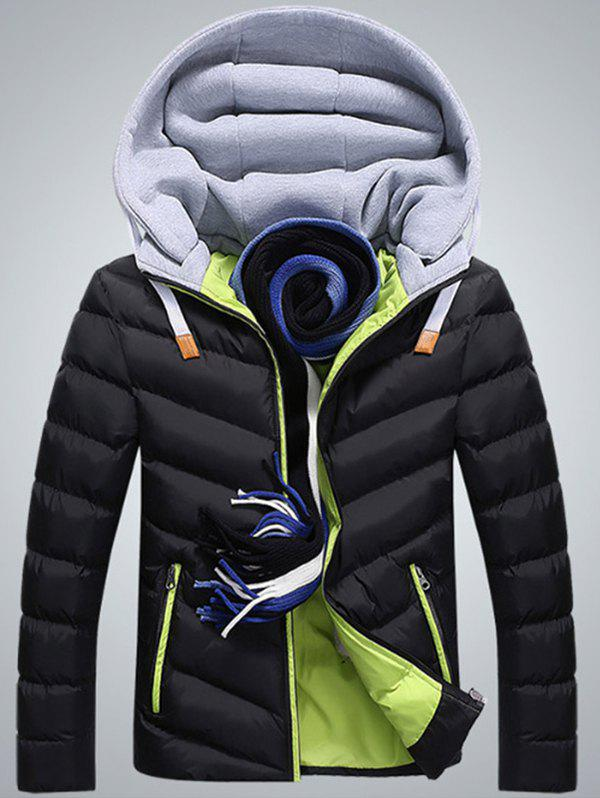 New Men's Cotton  Padded Down Jacket