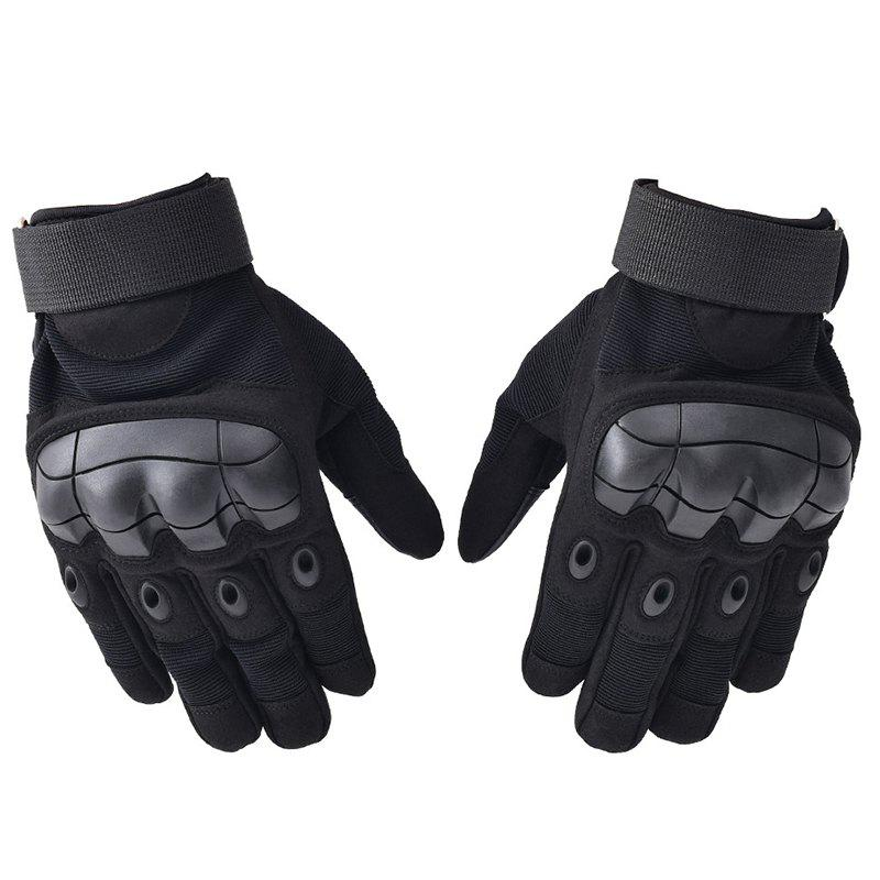 Fashion Men's Gloves Wear-resistant Microfiber Soft Shell Touch Screen