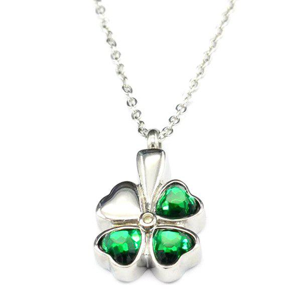 Shops Simple Lucky Clover Necklace