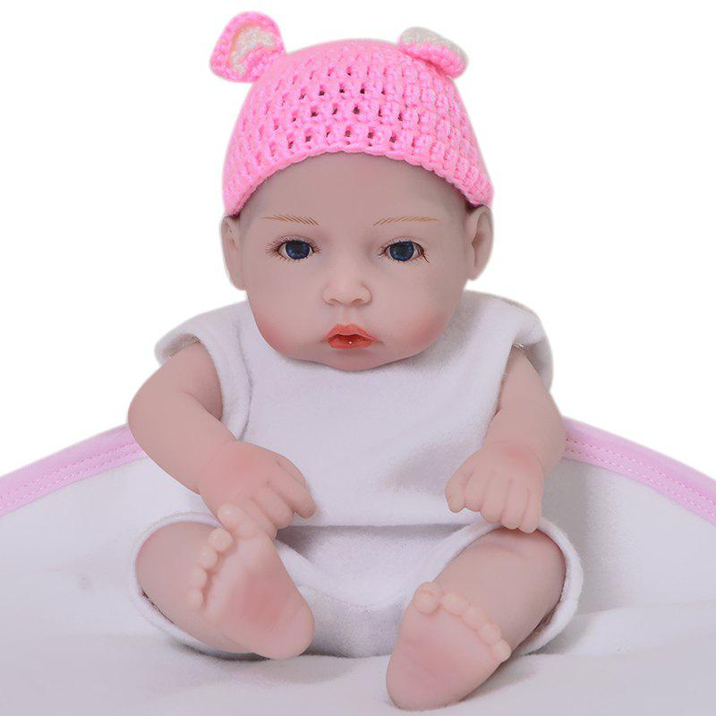 Outfit WP01 KEIUMI 11 inch Full Silicone Mini Simulation Baby Rebirth Doll Comfort Toy