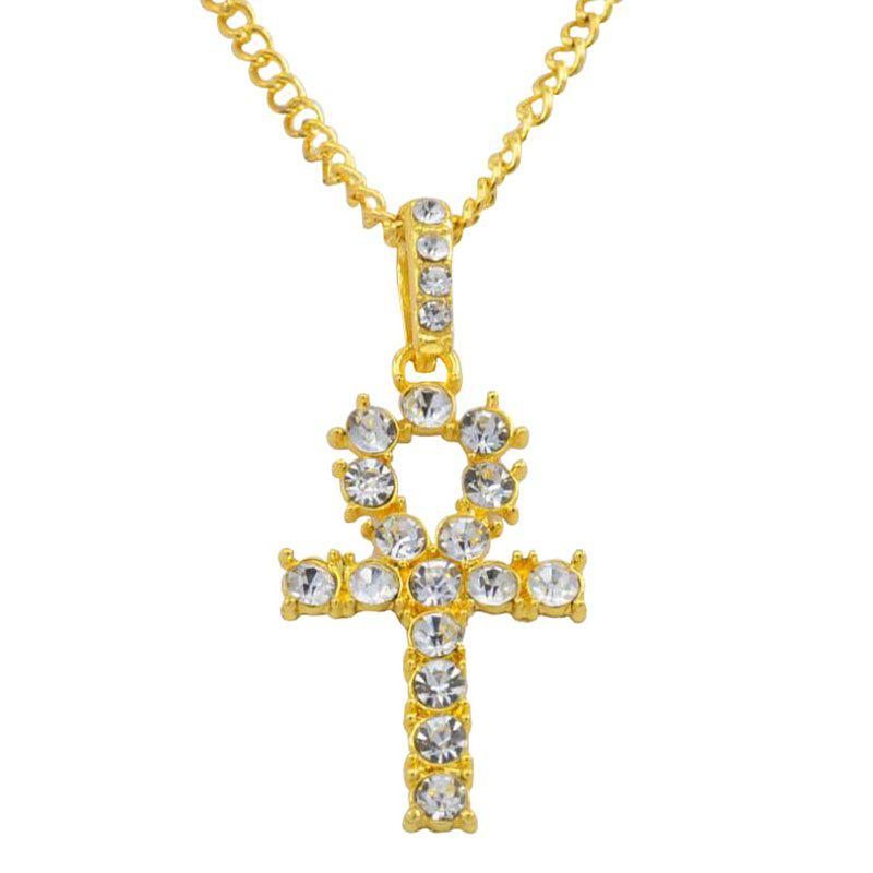 Cheap Fashion Simple Cross Alloy Necklace