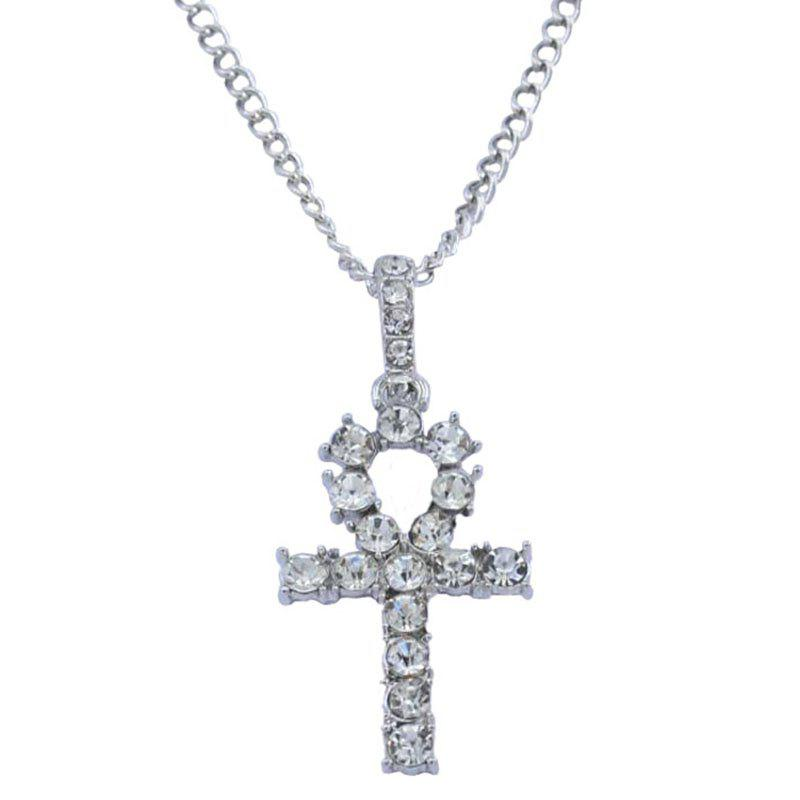 Buy Fashion Simple Cross Alloy Necklace