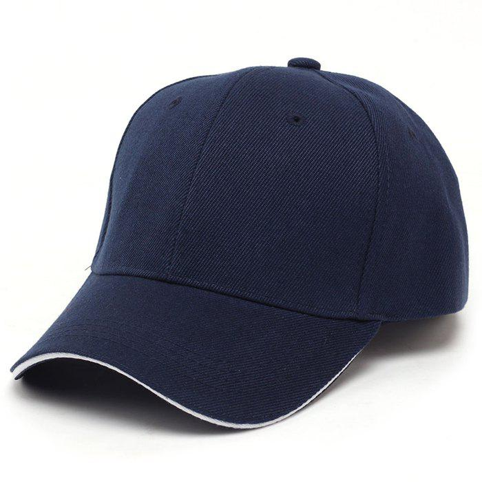 Chic Male Solid Color Baseball Cap