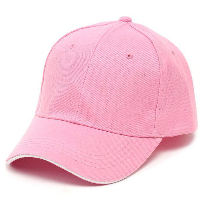 New Male Solid Color Baseball Cap