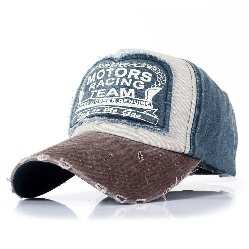 Hot Patch Color Matching Fashion Baseball Cap