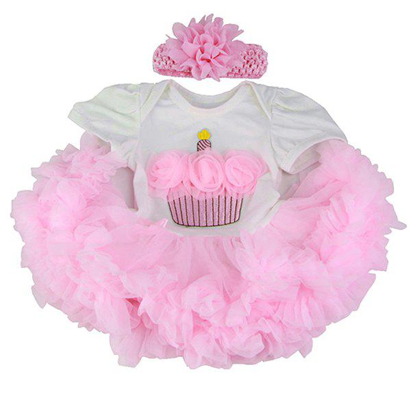 Store 22 - 23 inch Simulation Baby Rebirth Doll One-piece Skirt