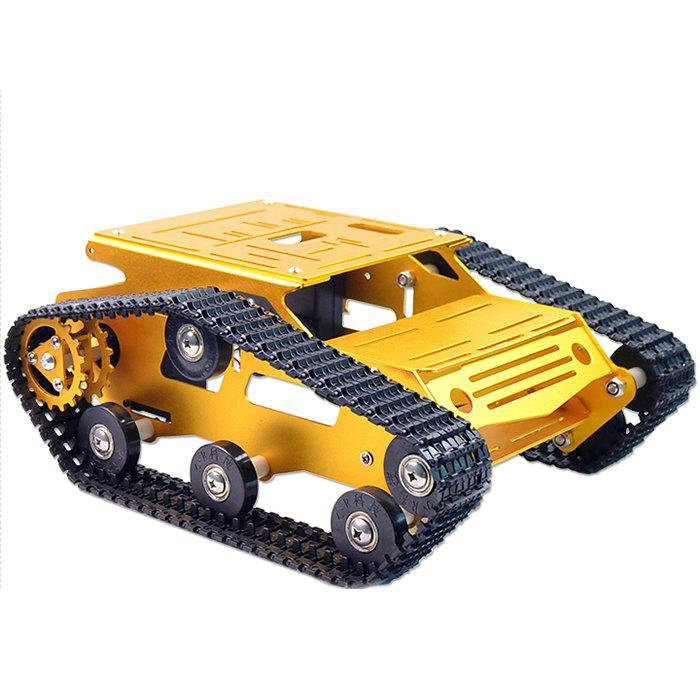 Trendy XIAOR - GEEK Robot Chassis Smart Car Large Size Metal Aluminum Crawler Body DIY
