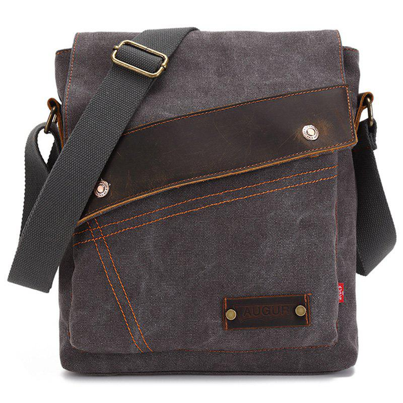Outfit AUGUR Men Classic Crossbody Bag Leisure Wearable