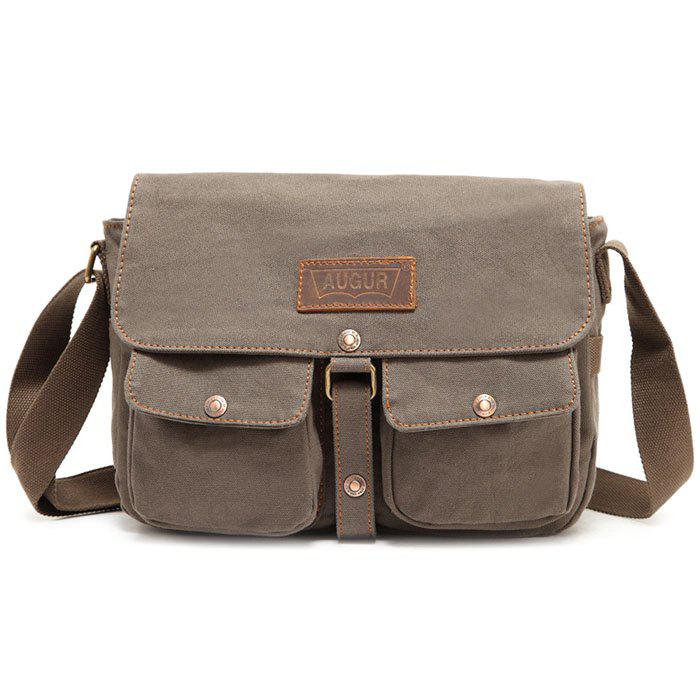 New AUGUR Men Classic Crossbody Bag Leisure Canvas