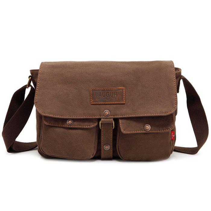 Outfits AUGUR Men Classic Crossbody Bag Leisure Canvas