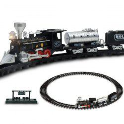 Light Sound Effect Track Small Train Model Toy -