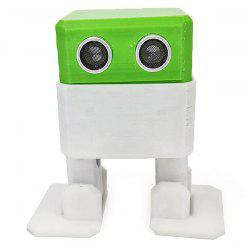 Creative Arduino Nano Obstacle Avoidance Robot DIY Humanity Playmate 3D Toys -