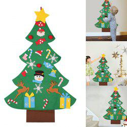 Children's Puzzle DIY Stereo Large Christmas Tree Kit Felt Cloth Assembled Christmas Home Decoration -