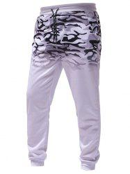 Men's Gradient Camouflage Casual Sports Trousers -